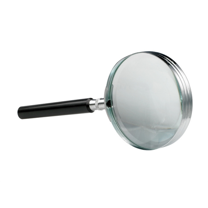 Picture of ALCO AL-1274 - Magnifier Alco, 75 mm, Enlarged 3x, With black handle