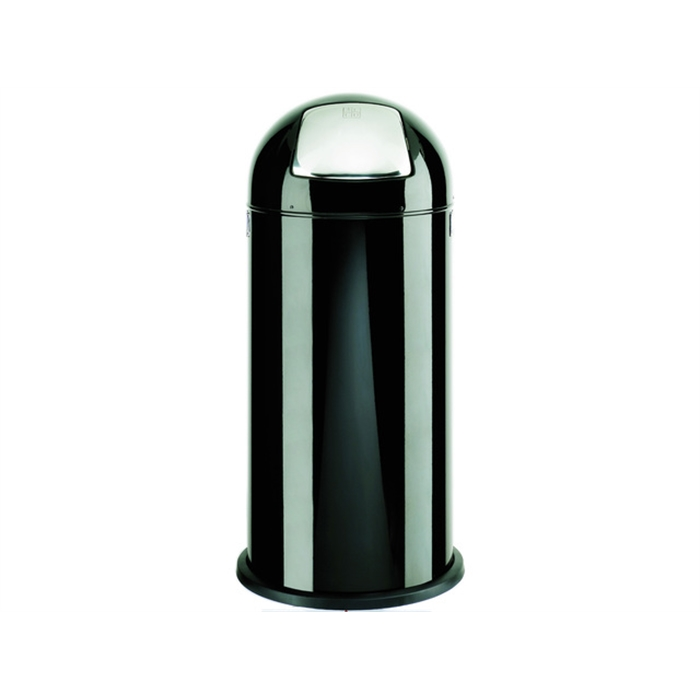 Picture of ALCO AL-2905-11 -  Waste bin pushboy height 84 cm diameter 37 cm 52 litres, Black