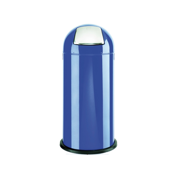 Picture of ALCO AL-2905-15 - Waste bin pushboy height 84 cm diameter 37 cm 52 litres, Blue