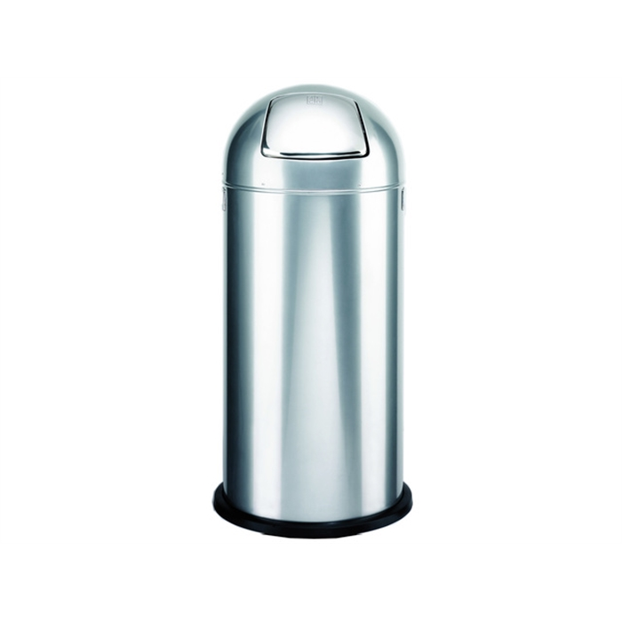 Picture of ALCO AL-2905-36 -  Waste bin pushboy height 84 cm diameter 37 cm 52 litres, Silver