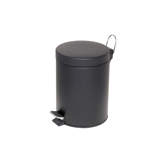 Picture of ALCO AL-2960-11 - Pedal bin height 28,5 cm diameter 20,5 cm 5 litres, Black