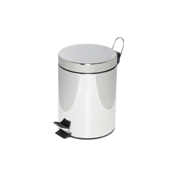 Picture of ALCO AL-2960-27 - Pedal bin height 28,5 cm diameter 20,5 cm 5 litres, Chrome