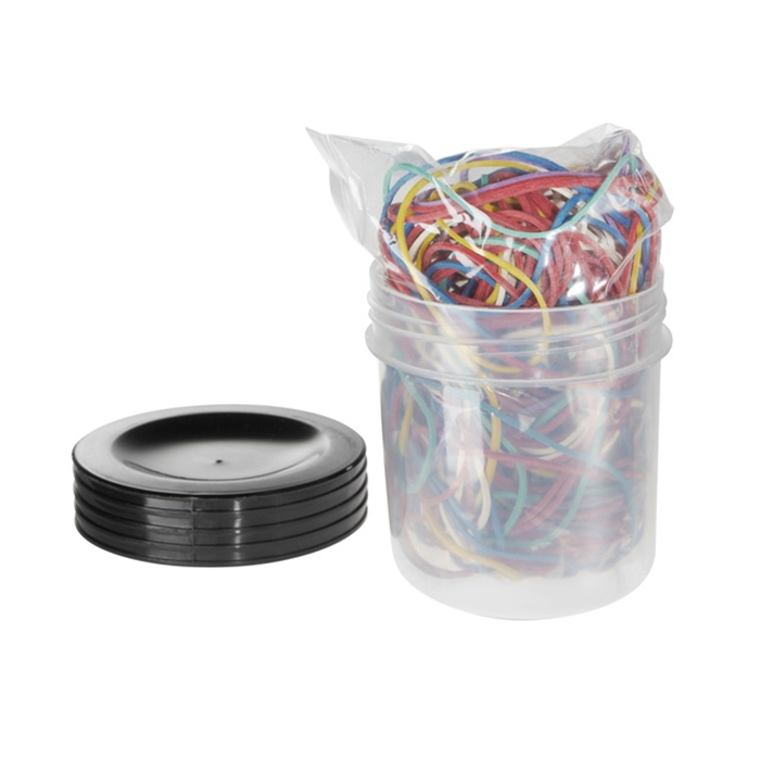 Picture of ALCO AL-735-26 - Alco rubber bands, 65 mm, Assorted, Box of 50 grams