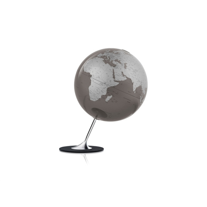 Picture of ATMOSPHERE NR-0324AGYG-GB - Globe Anglo Slate, Ø 25 cm, metal and chrome foot, English