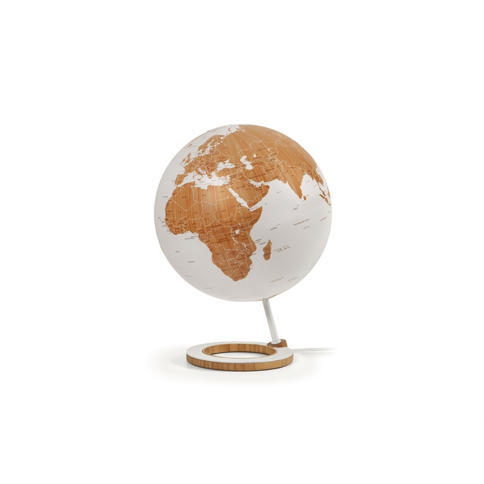 Picture of ATMOSPHERE NR-0324BMBM-GB - Globe Bamboo, Ø 25 cm, base made of bamboo and metal, English