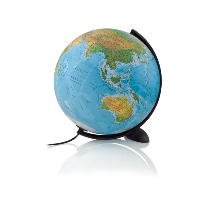 Picture of ATMOSPHERE Globe NR-0331EPFA-F - Globe Ellipse B, Ø 30 cm, French
