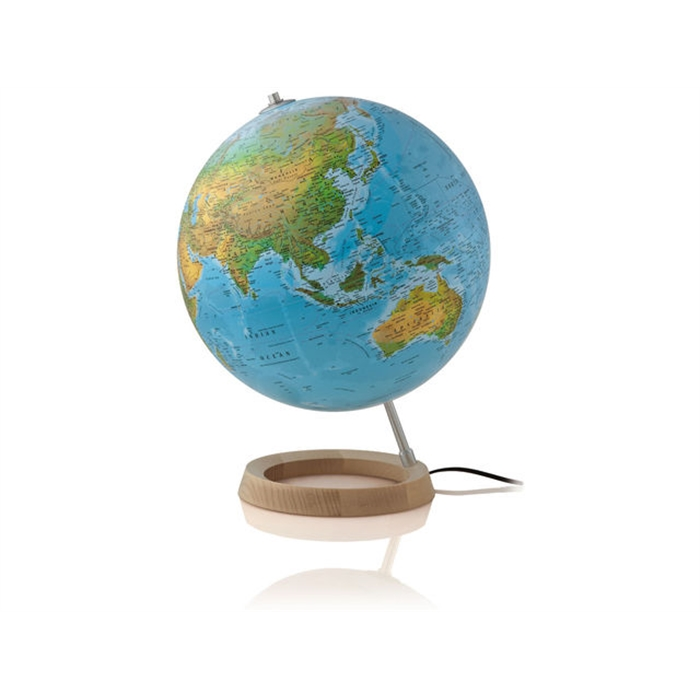 Picture of ATMOSPHERE Globe NR-0331F2AA-NL - Globe Full Circle 2, Ø 30 cm, Dutch