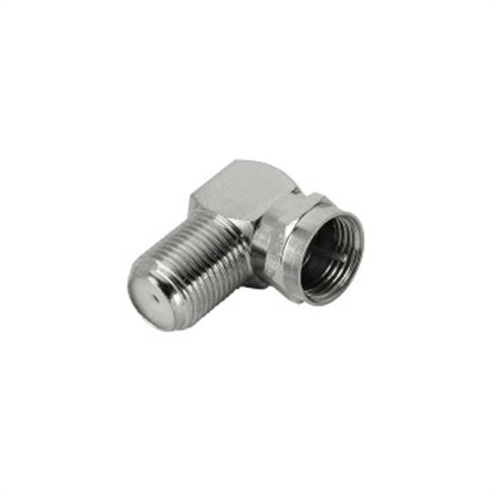 Picture of AVINITY 107609 - SAT angle adapter 90°, F-connector - F-coupling