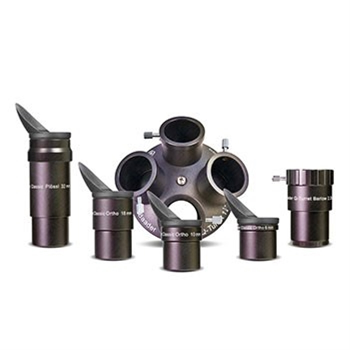 Picture of BAADER PLANETARIUM 00157295 - Eyepiece adapter set Classic Q-Turret for telescopes