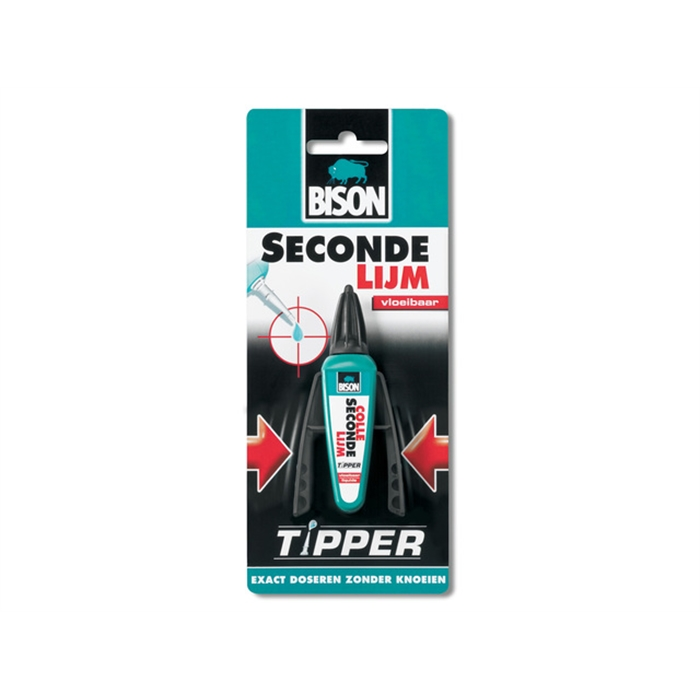 Picture of Bison colle seconde Tipper liquide 3 gr.