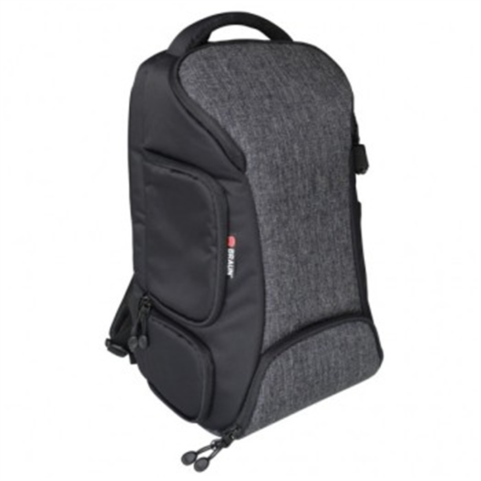 Picture of BRAUN PHOTO TECHNIK 172949 - ALPE DAYPACK DENIM Camera Backpack, anthracite