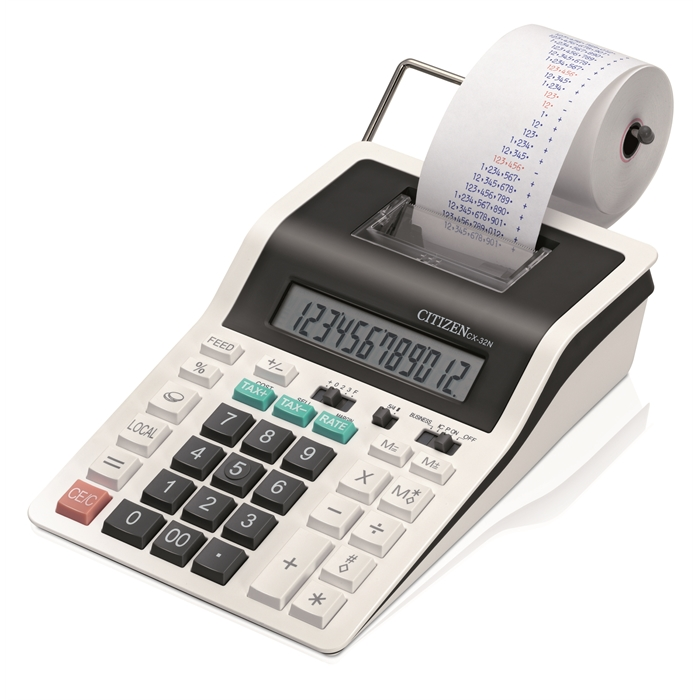 Picture of Citizen CX32N - Portable Printing Calculator