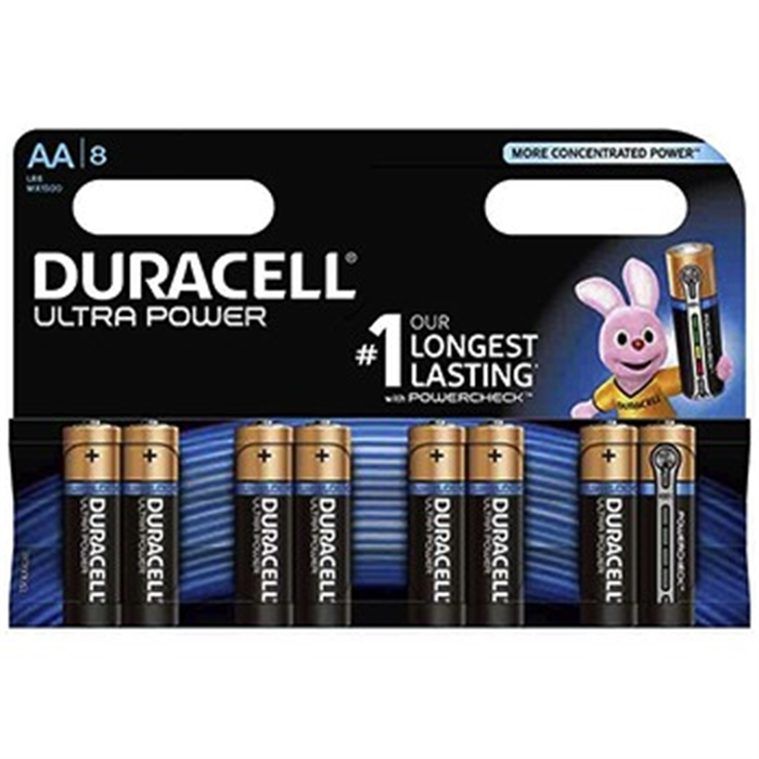 Picture of AA Battery Ultrapower, 1,5V, 8 Piece