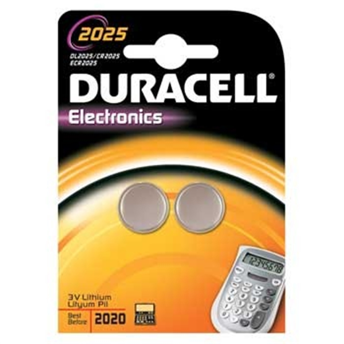 Picture of Button Cell CR2025, Lithium, 3 Volt, Silver
