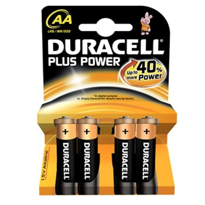 Picture of Universal AA Battery Power Plus MN1500, 1,5 V, 4 Each, Black/Copper