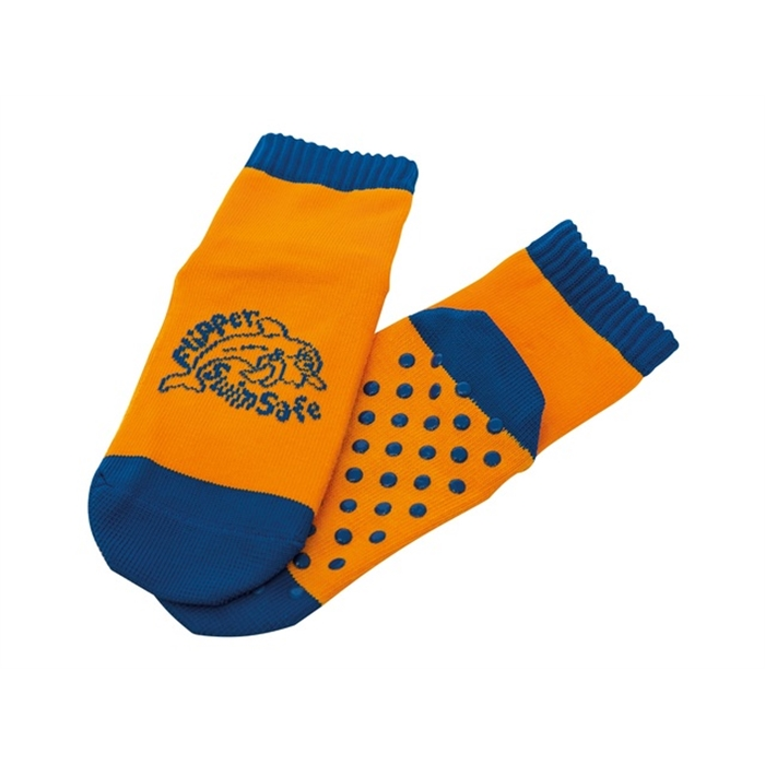 Picture of Flipper Swimsafe chaussettes aqua taille 19-22 orange/bleu