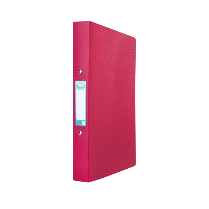 Picture of ELBA Ring Binder Urban A4 40mm Spine 2 rings opaque Red