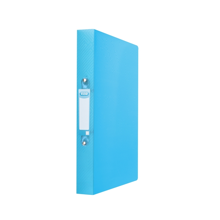 Picture of ELBA Ring Binder Urban A4 40mm Spine 2 rings translucent Turquoise Blue