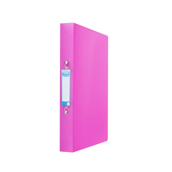 Picture of ELBA Ring Binder Urban A4 40mm Spine 2 rings translucent Pink