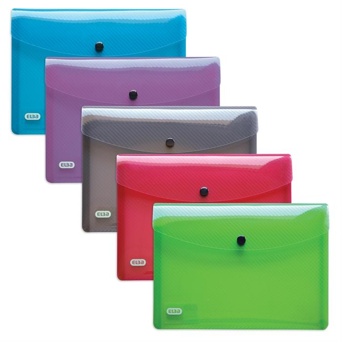 Picture of 5 Snap Wallets Elba Hawaï A5 Assorted 5 Colours