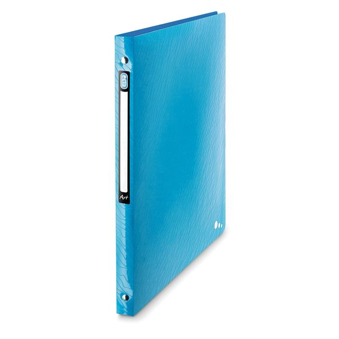 Picture of Ring Binder Elba Art A4 20mm spine 4 rings Blue