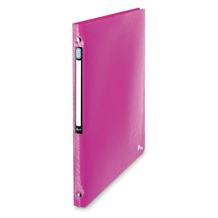Picture of Ring Binder Elba Art A4 20mm spine 4 rings Pink