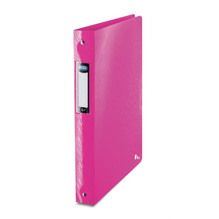 Picture of Ring Binder Elba Art A4 40mm spine 4 rings Pink