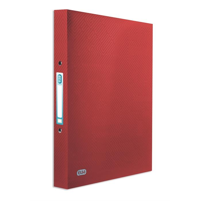 Picture of ELBA Ring Binder Urban A4 20mm Spine 2 rings opaque Red