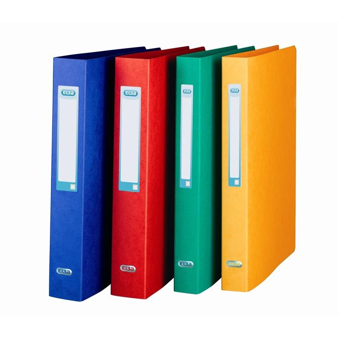 Rbinder Elba Eurofolio A4 Spine 35 Mm 2 O-Rings Assorted Tradition, Picture 1