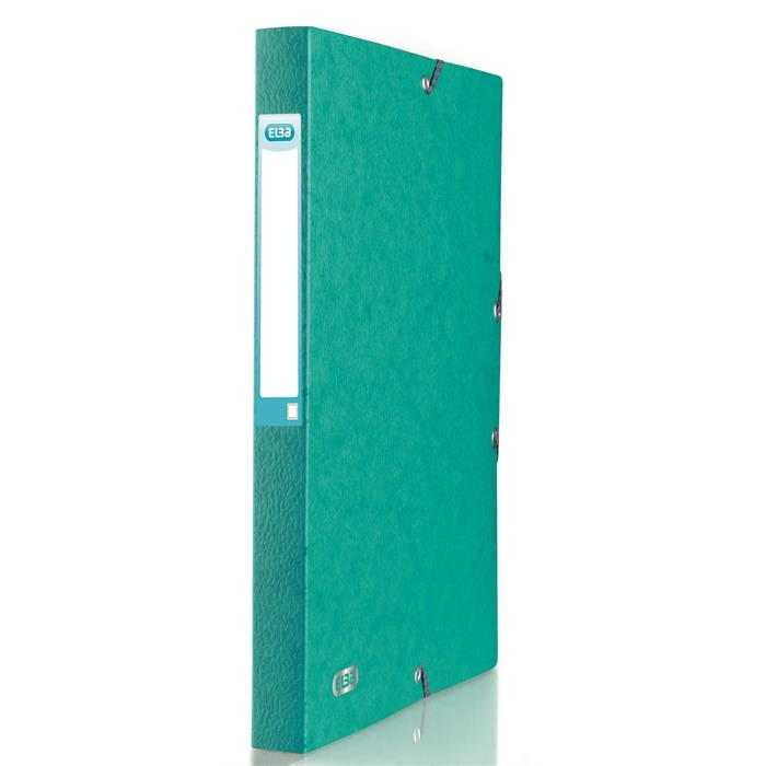 Elba Eurofolio 24X32 Filing Box Spine 25 mm Green, Picture 1