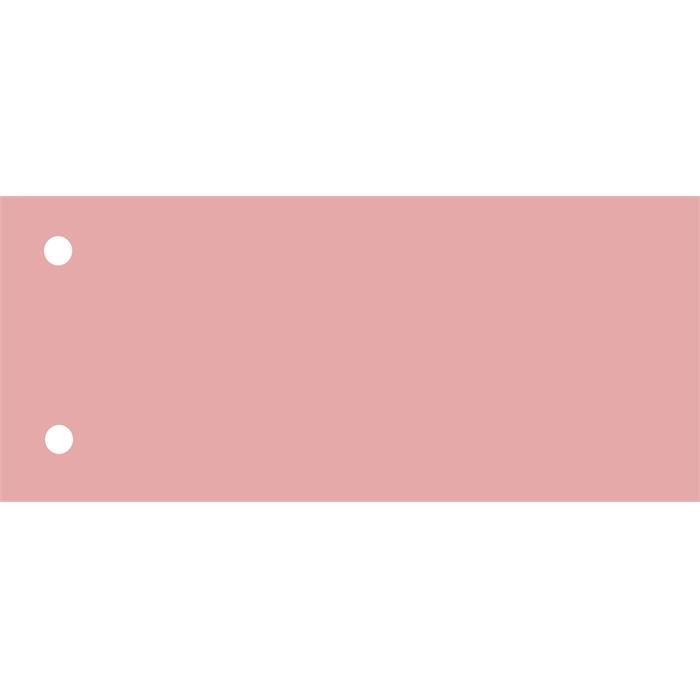 Elba 240x105mm dividers 190gsm card 2 holes pink pack 100, Picture 1