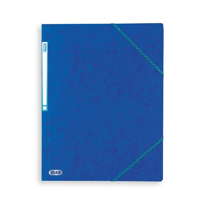Picture of Elba Top File A4 Three-Flap Folder ; Cobalt Blue
