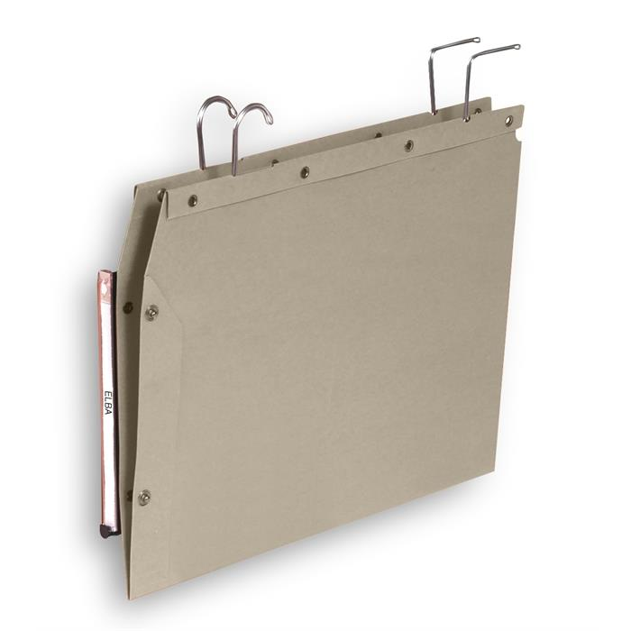 Picture of Elba Ultimate Suspension File AzTub V Base; Box Of 25; 350X290 Grey