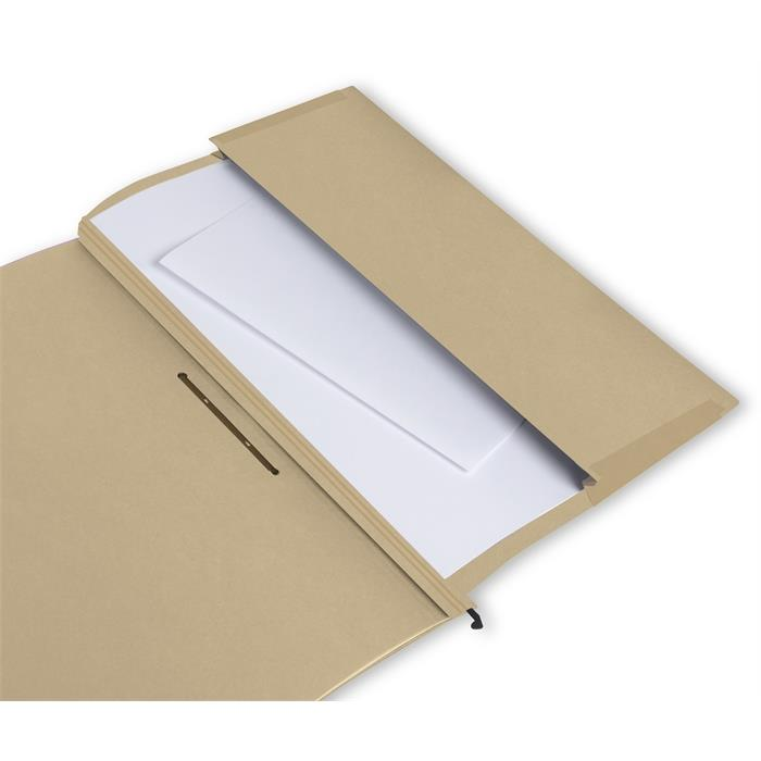 ELBA vertic ULTIMATE, Suspension file with 4 dividers, A4, 240 gsm card, brown, Picture 4