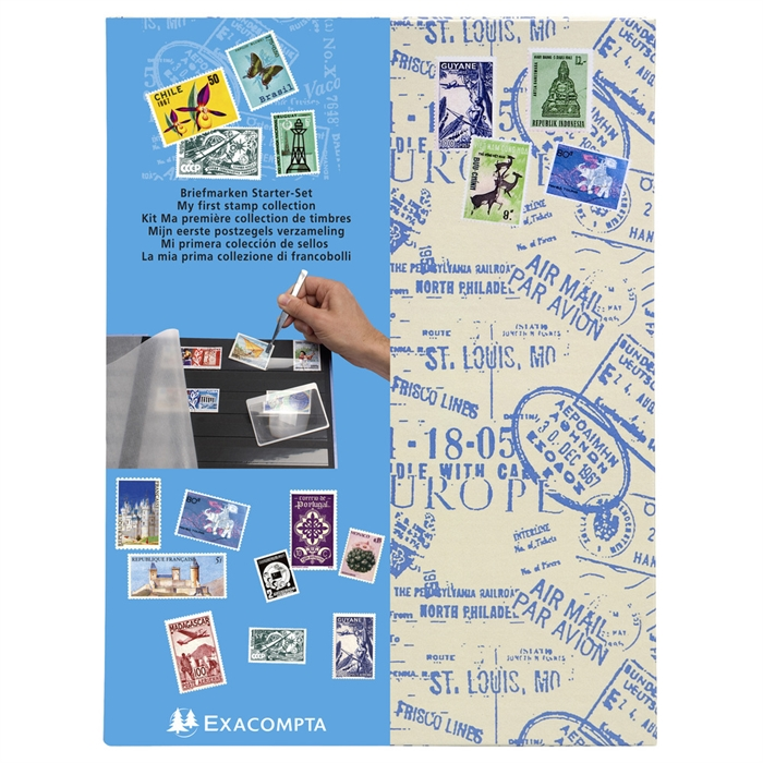 "Picture of ""Kit stamp collector ""my first collection"" Air Mail""-Designs"