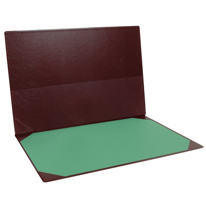 Picture of Desk blotter PVC 400x600mm-Burgundy
