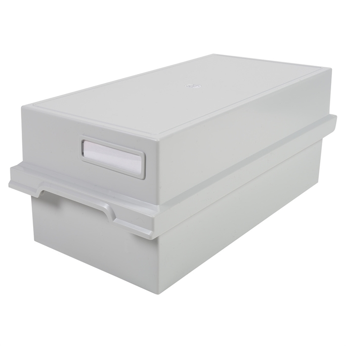 Picture of Card index tray with lid for 1000 cards A6