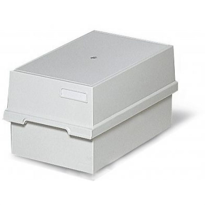 Picture of Card index tray with lid for 1000 cards A4