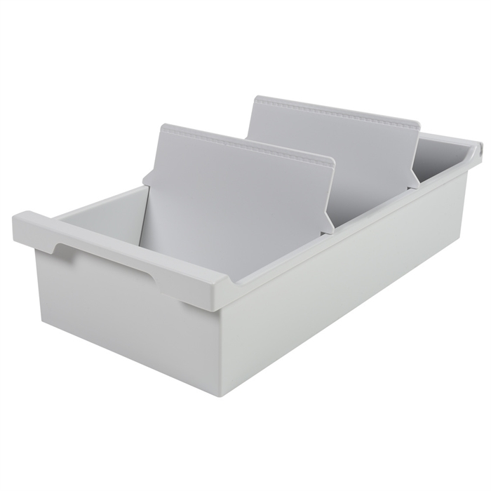 Picture of CARD INDEX TRAY DIN A6 light grey
