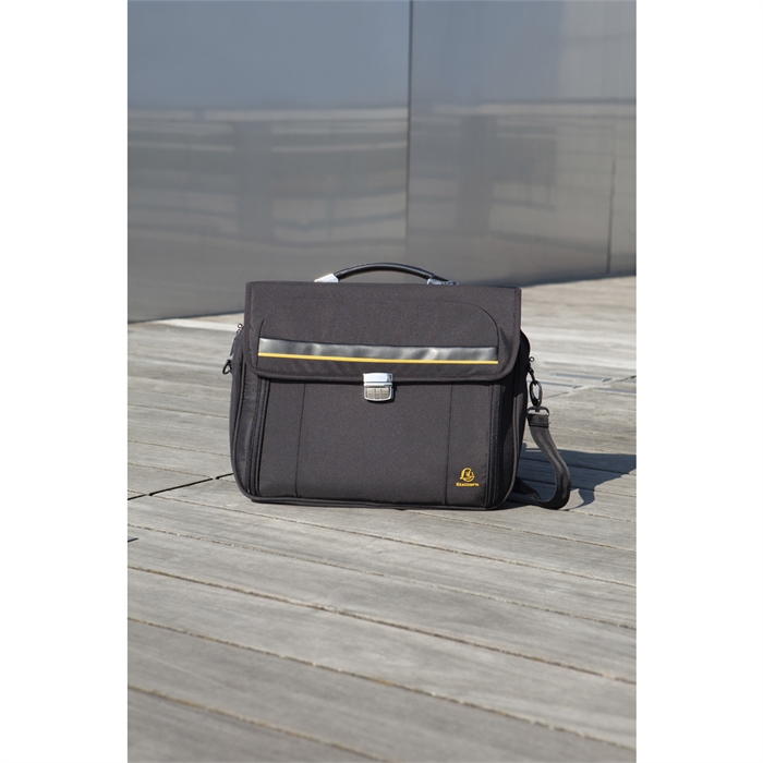 EXACOMPTA 17334E - Briefcase for laptop 15,6'' Exactive®, Black, Picture 4