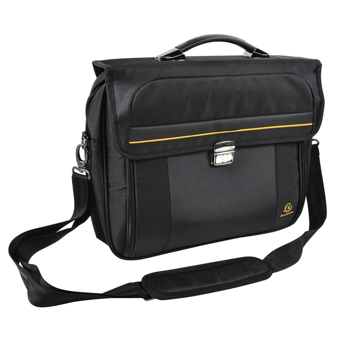 EXACOMPTA 17334E - Briefcase for laptop 15,6'' Exactive®, Black, Picture 12