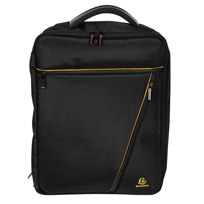 Picture of EXACOMPTA 17734E - Laptop bag Dual 15,6'' Exactive®, Black