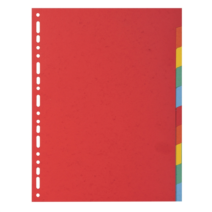 "Picture of ""Forever Recycled Dividers, A4, 220gsm, 10 part ""."