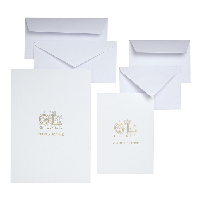 20 vellum envelopes 107x152mm., Picture 2