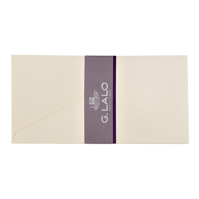 Picture of 20 envelopes cotton vellum 220x110mm.