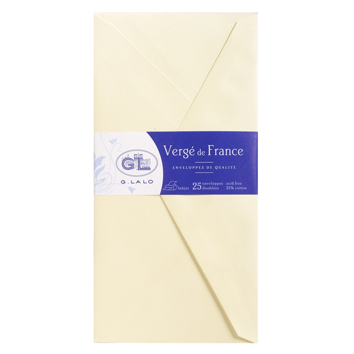 Picture of EXACOMPTA 22716L - 25 tissue-lined envelopes 110x220 mm