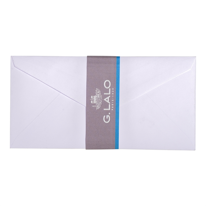 Picture of 20 envelopes pearlescent vellum 110x220mm.