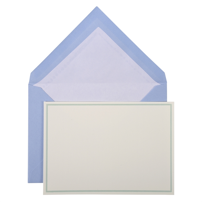 bordered pack: 10 cards and 10 tissue lined envelopes., Picture 1