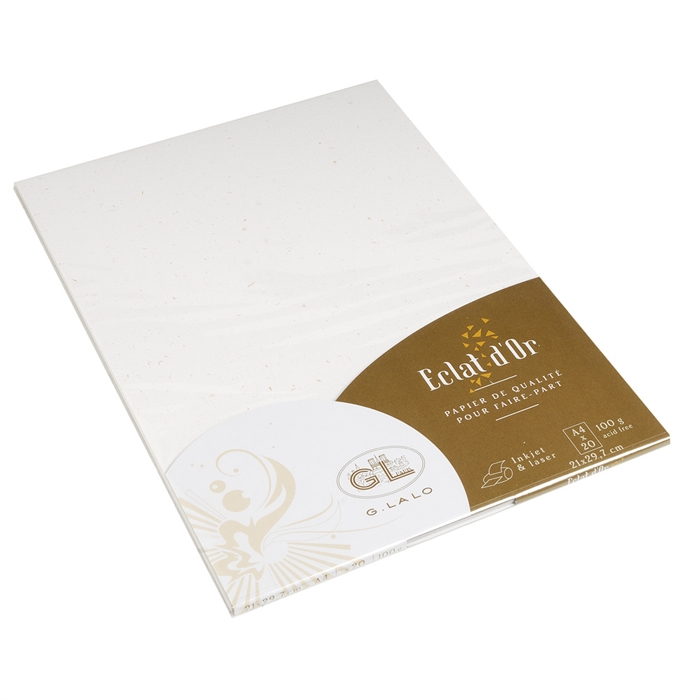 EXACOMPTA 43700L - 20 sheets, Spark of gold A4 100g, Picture 1
