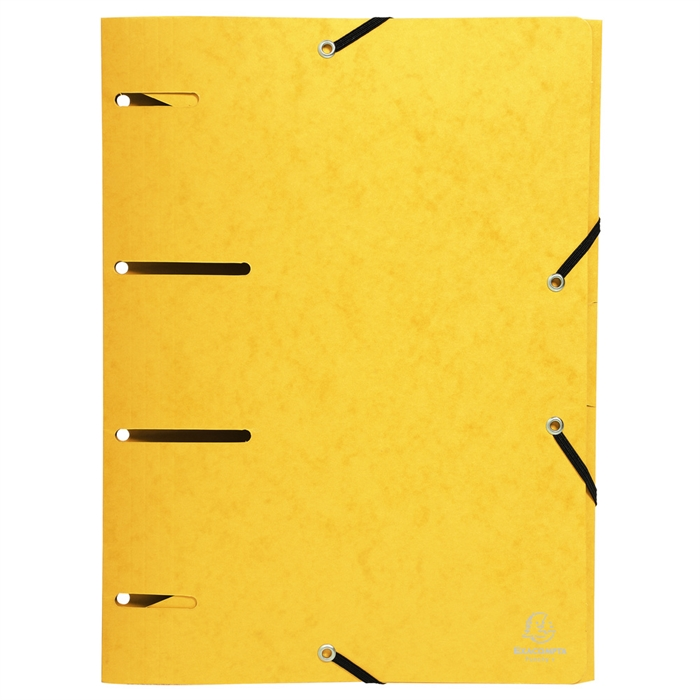 Pack of 6 Elasticated Folders Punchy+ 375g Assorted., Picture 6